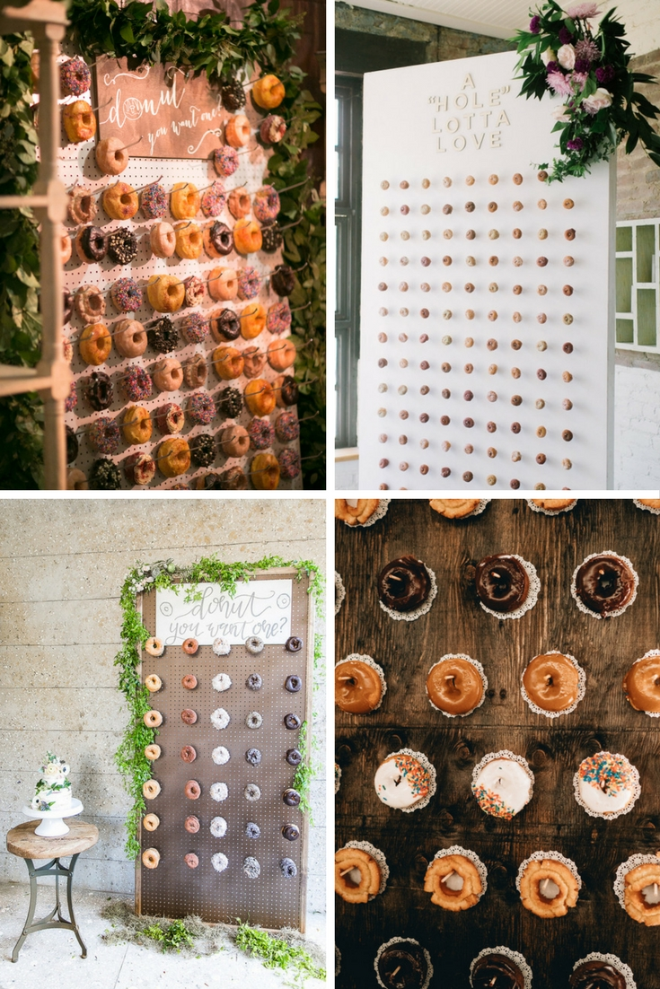 Donut Wedding Walls - The Maharani Diaries