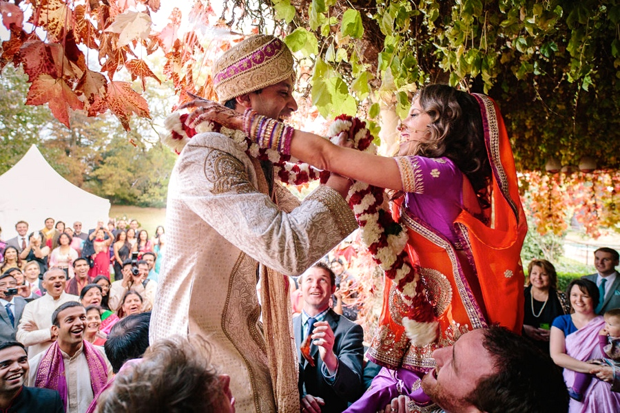 autumn indian wedding