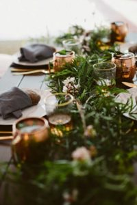 greenery pinterest wedding trends