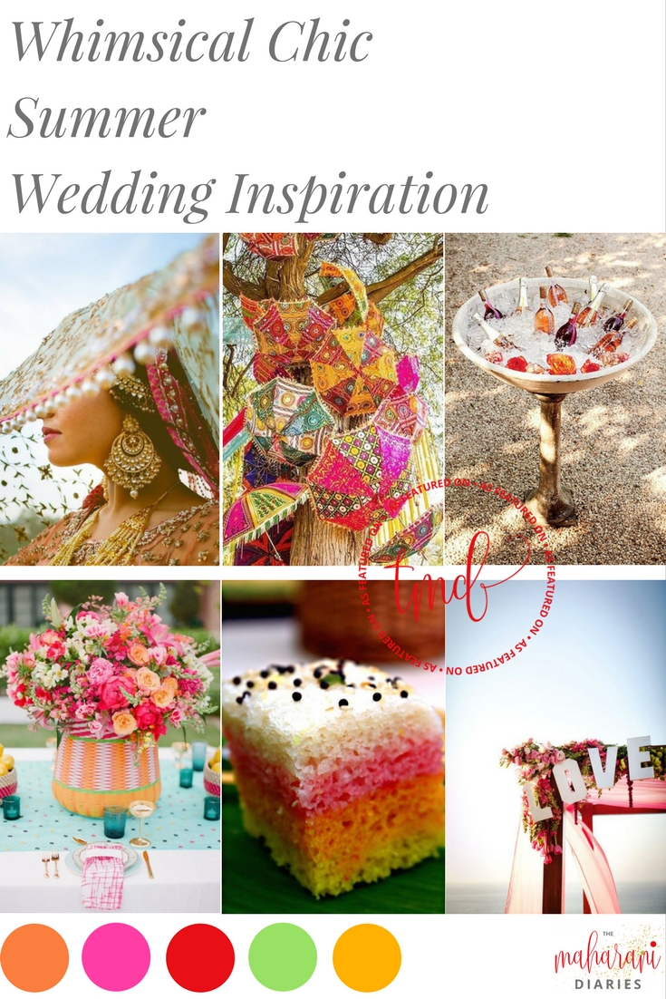 Whimsical Wedding Inspiration - The Maharani Diaries