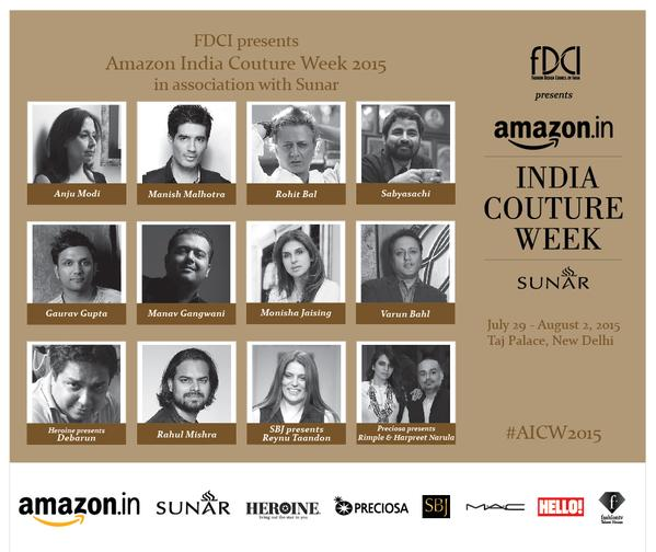 Amazon India Couture Week 2015 - The Maharani Diaries