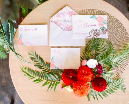 Fusion Indian Wedding Inspiration Shoot with Wedding Stationery by Ratanji Rani - The Maharani Diaries