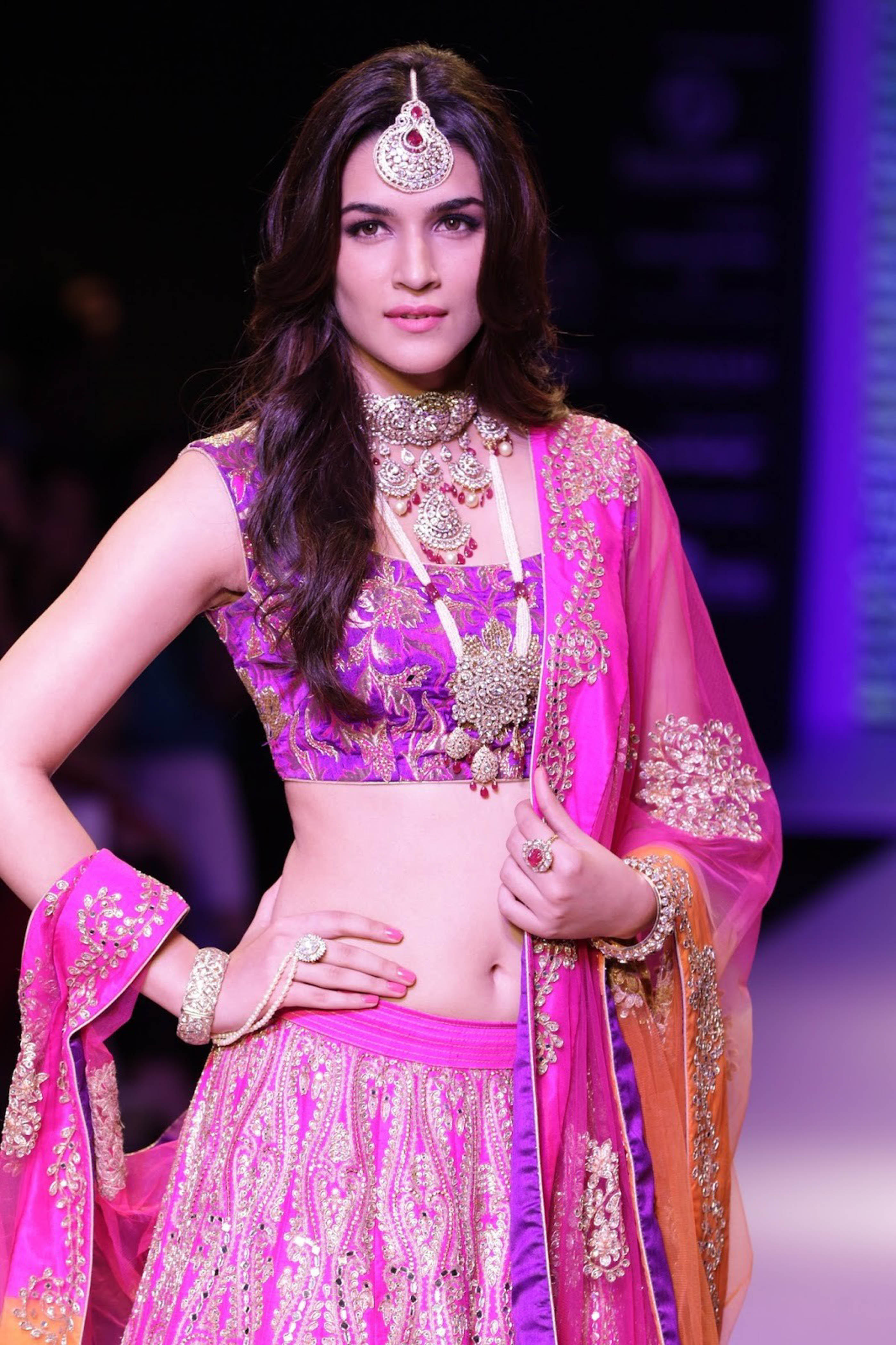 Bridal Jewellery Trends for the Modern Indian Bride - Kriti Sanon - The Maharani Diaries