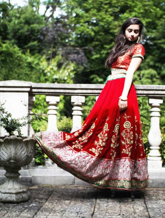 Introducing Aan By Arti - Modern Lehenga Designs for the Indian Bride - The Maharani Diaries