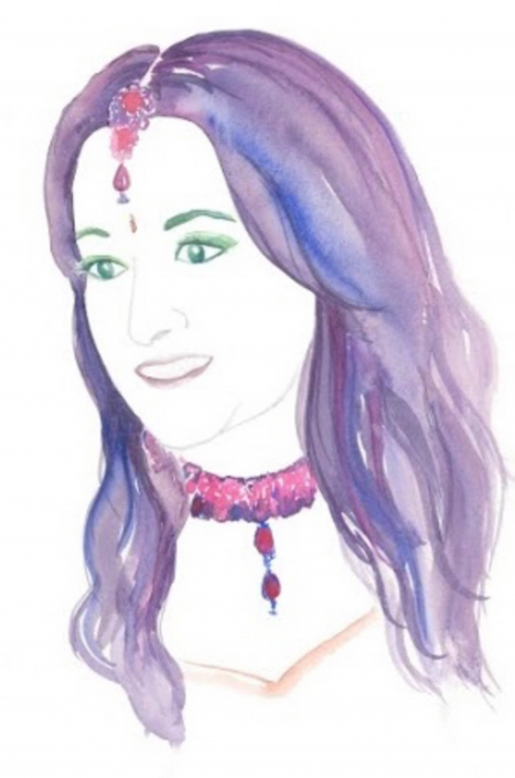 Introducing watercolour artist, Aparna Ram of Cuckoo For Colour - The Maharani Diaries