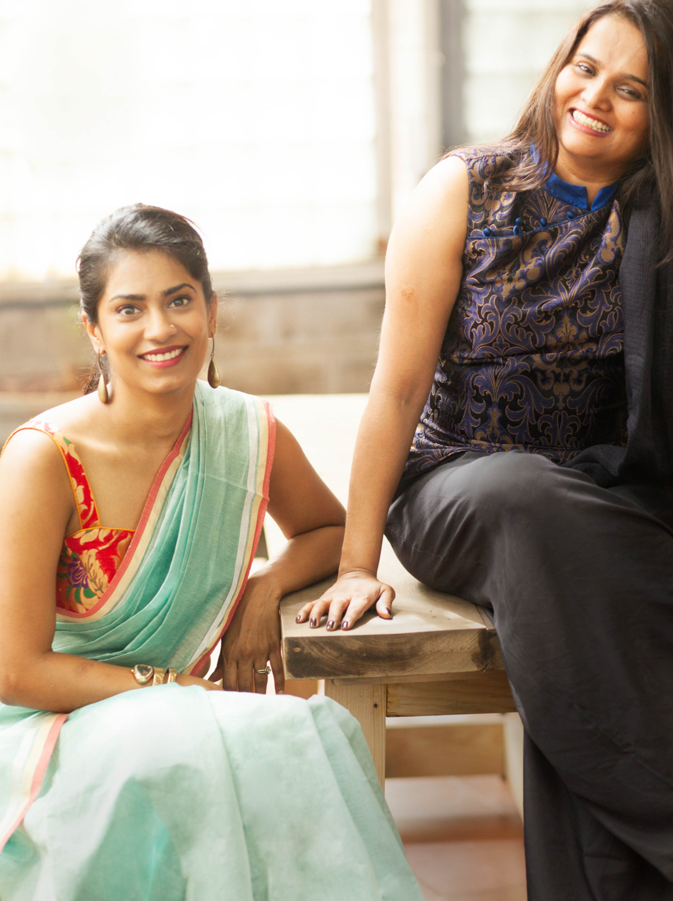 Rachana and Roopa Reddy of House Of Blouse - The Maharani Diaries