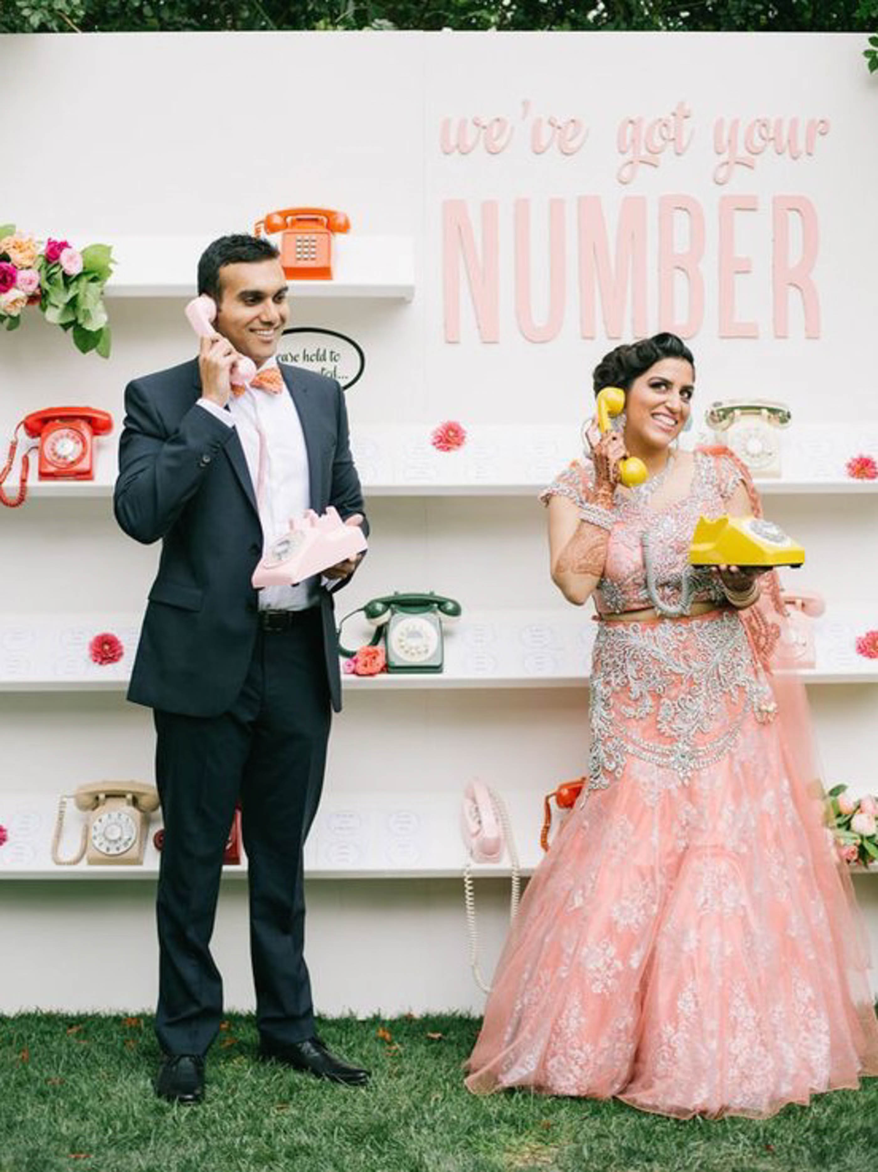 5 Social Media Etiquette Tips For The New Age Bride - The Maharani Diaries - Having a photo booth at your wedding is a pretty good idea for the social media lovers!