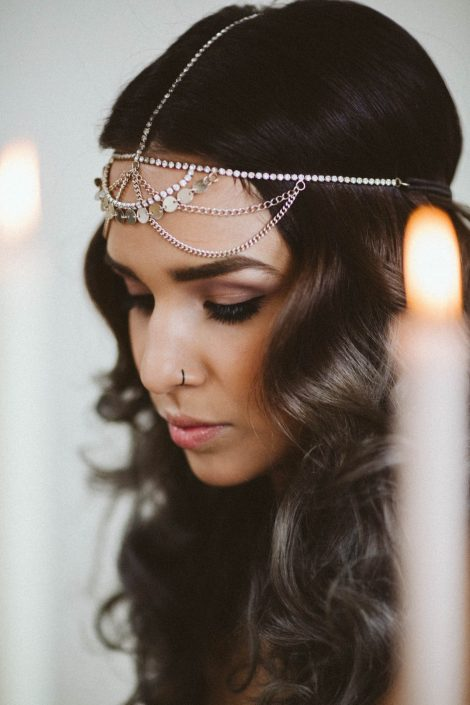 indian bridal hair inspiration