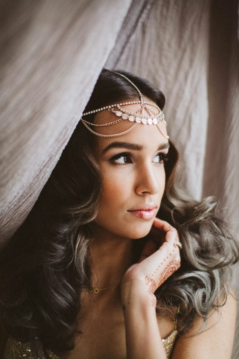 romantic modern indian bridal inspiration