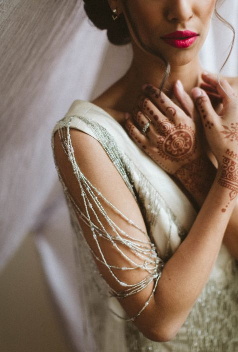 indian bridal henna art
