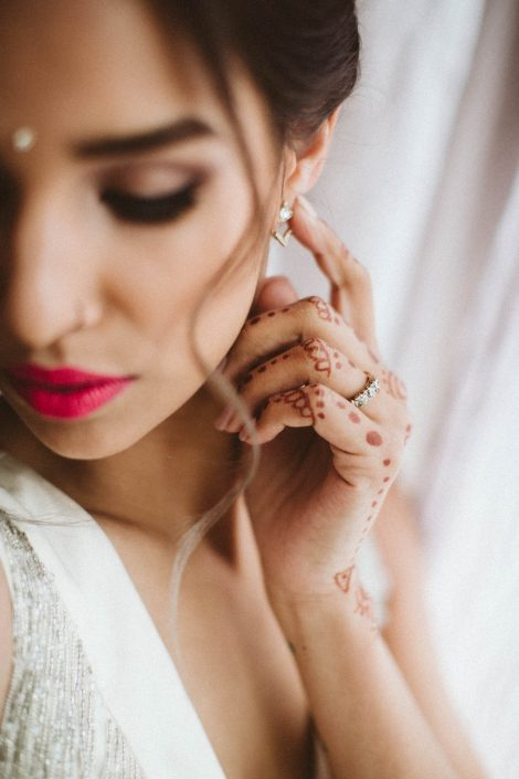 romantic indian bridal makeup