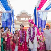 Beautiful Exotic Destination Jodhpur Wedding - Nidhi + Arpan