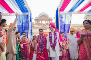 Exotic Destination Jodhpur Wedding: Nidhi + Arpan