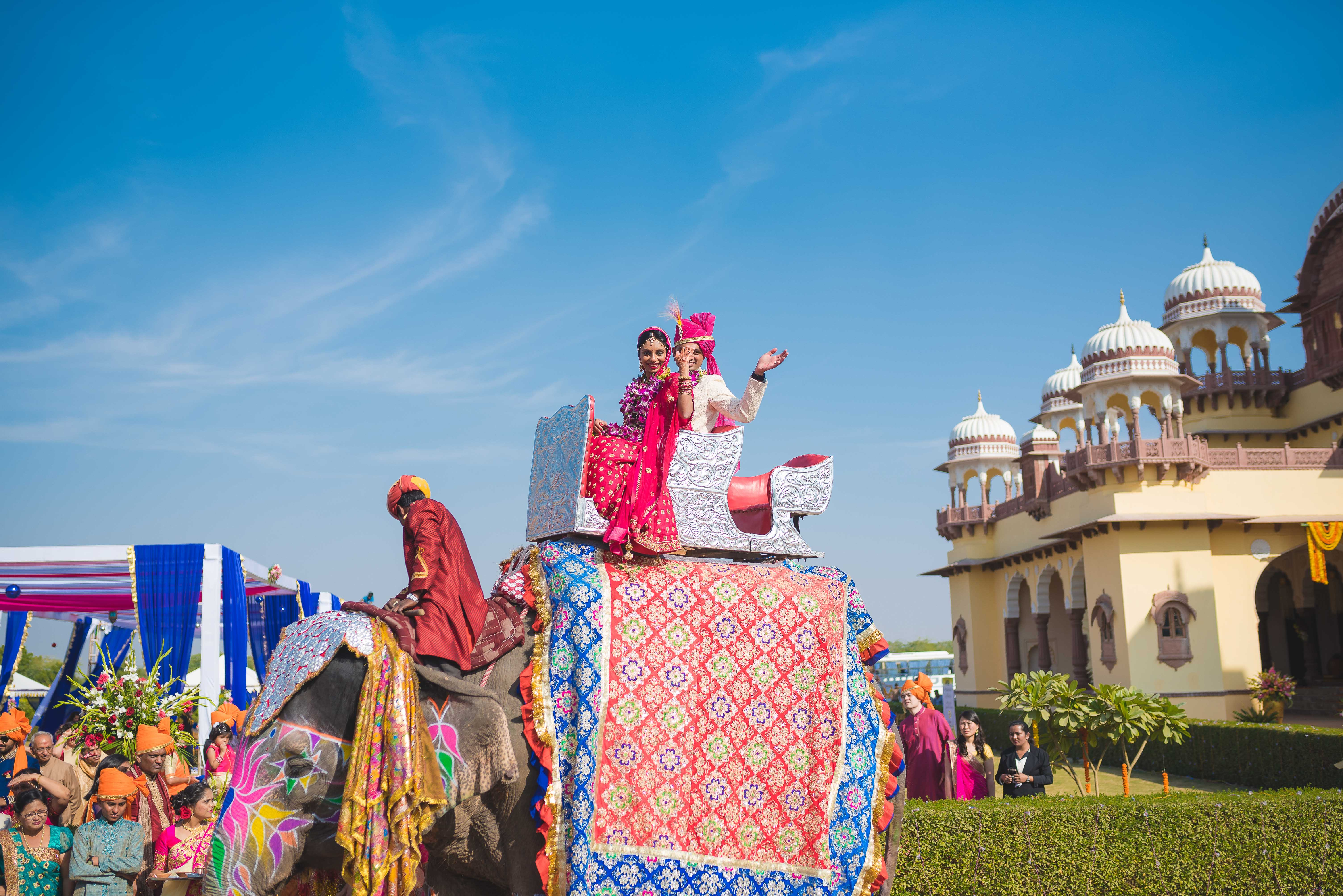 Exotic Destination Jodhpur Wedding - Nidhi + Arpan