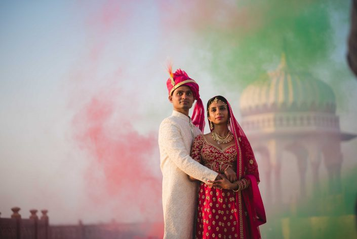 Exotic Destination Wedding in Jodhpur - Nidhi + Arpan