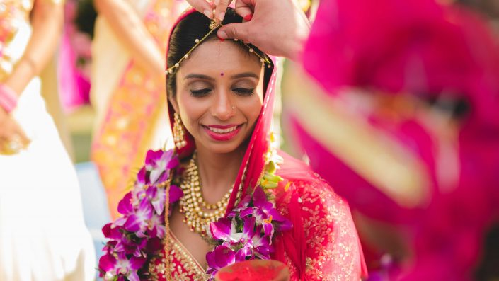 Beautiful Bride Nidhi at her Royal Rajasthani Wedding - Nidhi + Arpan's Destination Wedding in Jodhpur