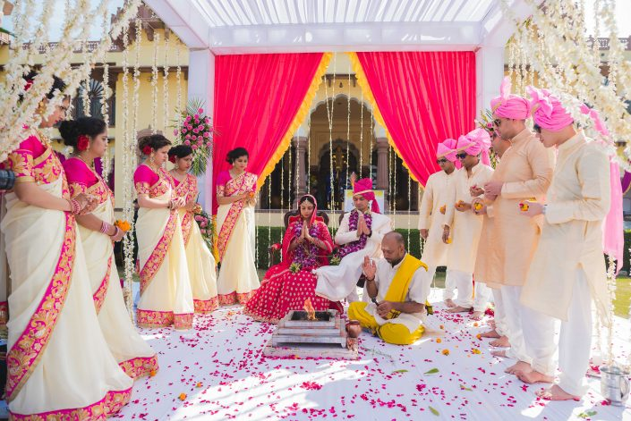 Mandap Details - Nidhi + Arpan's Exotic Destination Indian Wedding
