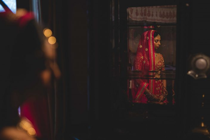 Beautiful Indian Bridal Portrait - Nidhi + Arpan: Exotic Destination Wedding in Jodhpur Rajasthan