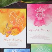 The 5 Step Guide To Planning A Modern Wedding - Wedding Invitations - The Maharani Diaries