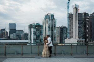 Modern Urban Melbourne Wedding: Priyanka + Max