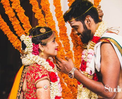 Varsha and Guru: Elegant Telugu Wedding in Chennai - The Maharani Diaries