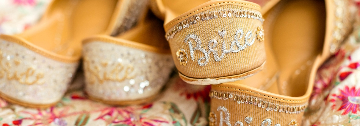 Fizzy Goblet Bridal Box Juttis for the Wedding Season - The Maharani Diaries