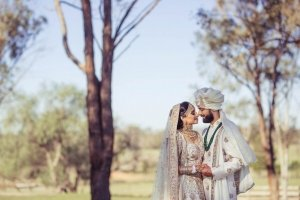 A Glittering Spring Wedding Celebration in Sydney: Rachna + Avin