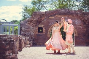 Colourful Sikh Wedding in the heart of Sydney: Tia + Gagan