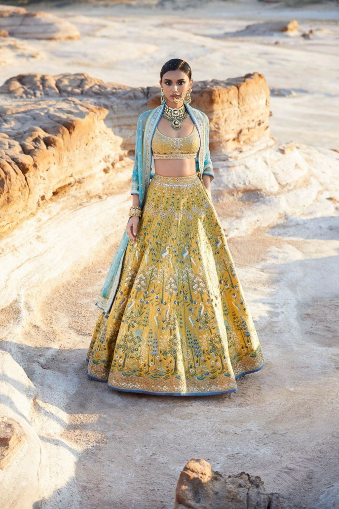 10 Bridal Lehenga Designs for Every Style of Indian Wedding_Anita Dongre