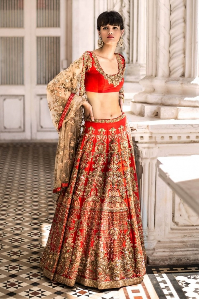 10 Bridal Lehenga Designs for Every Style of Indian Wedding_Shyamal and Bhumika