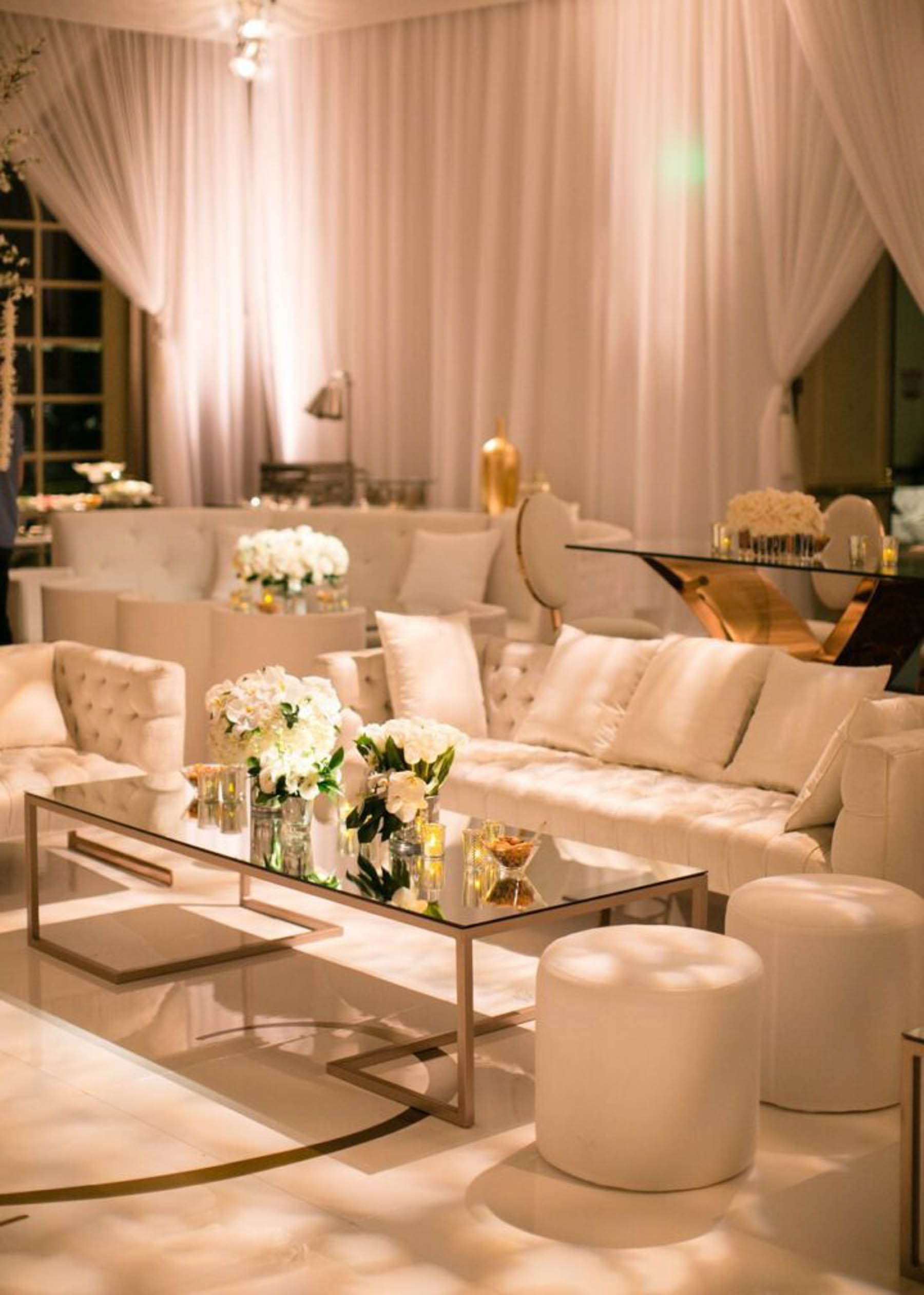 Enhance your Indian wedding reception party with ottoman furniture