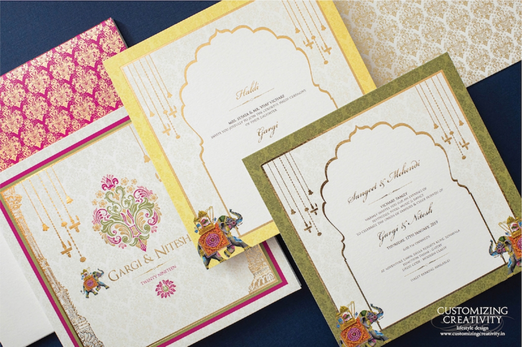Customizing Creativity_Indian Wedding Invitations and Stationery