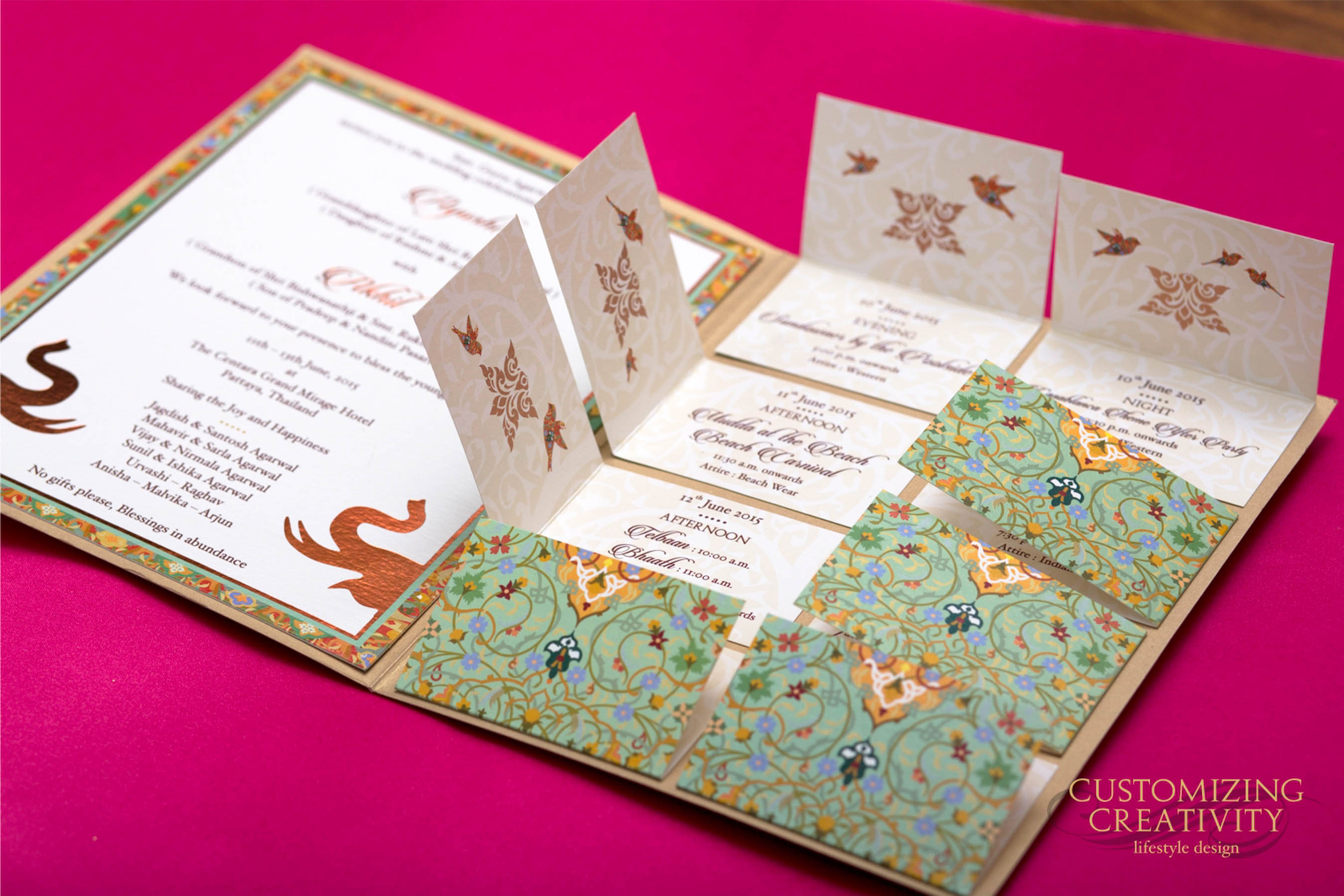 Indian Wedding Invitation Designers Customizing Creativity_The Maharani Diaries_4