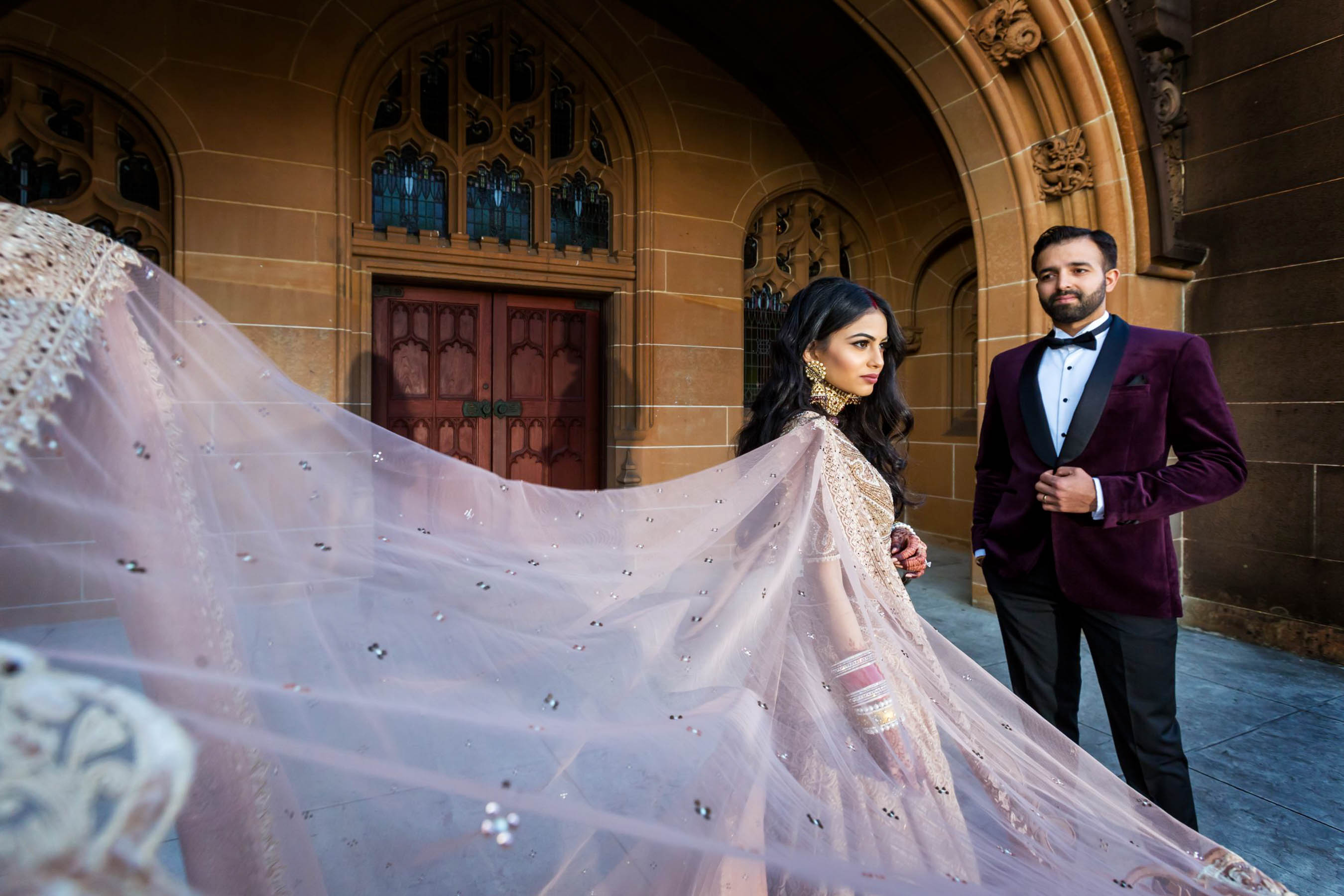 Myura and Bharat's glam Punjabi wedding in Sydney