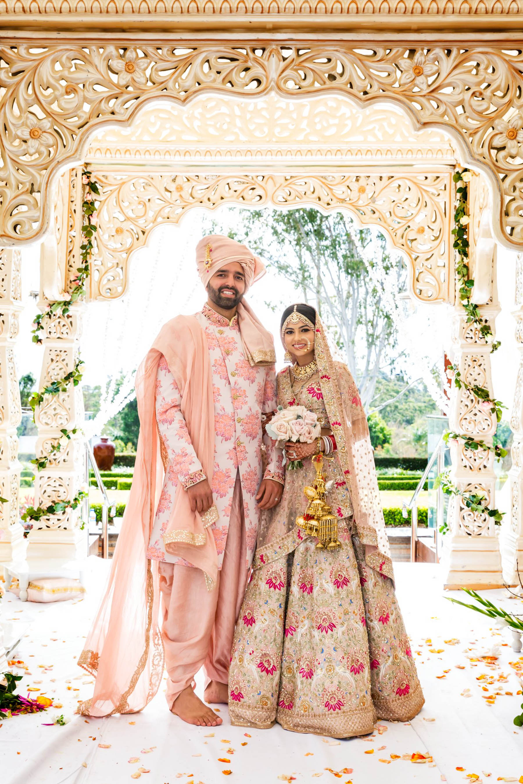 Glam Punjabi Wedding in Sydney_Myura and Bharat