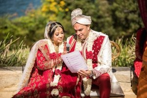 Elegant Outdoor Indian Wedding With Harbour Views: Sheena + Jon