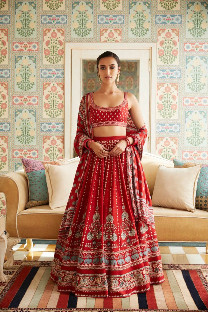 Anita Dongre launches new Winter festive bridal collection, 'JAIPUR LOVE'