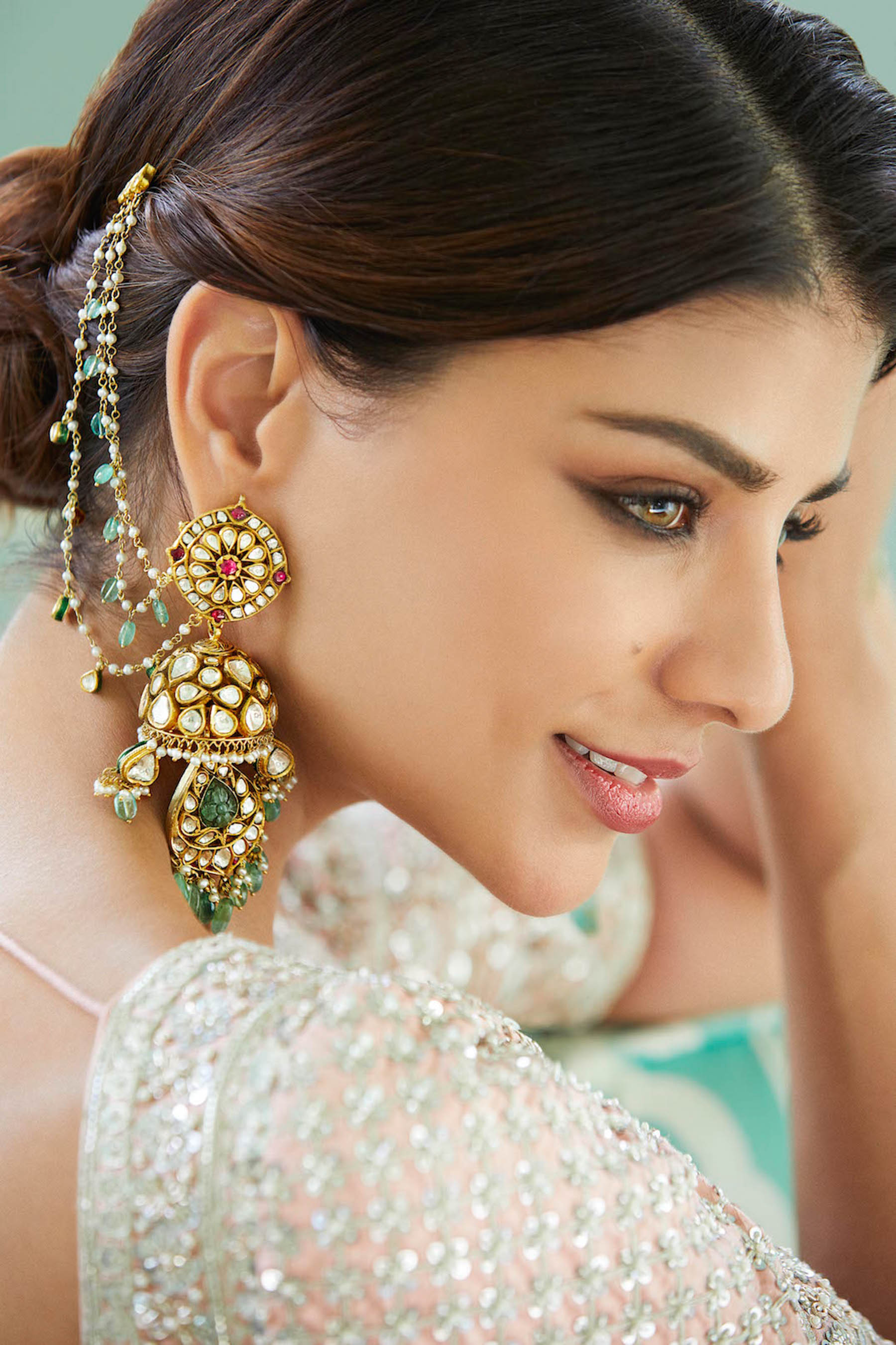 Anita Dongre's jewellery line, is just as exquisite as her Indian bridal wear.