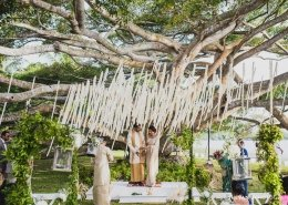 A Traditional Sri Lankan Garden Poruwa Wedding Ceremony - Maya and Rev