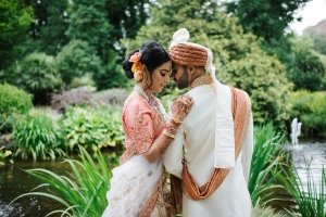 A Stylish Gujarati Wedding At Glasshouse Melbourne: Nomeeta + Cheten