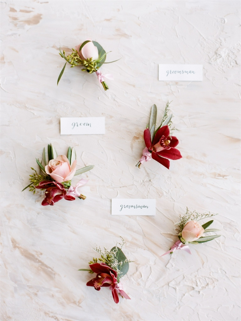 Boutonnieres from Sydney Wedding Florists, Lime Tree Bower