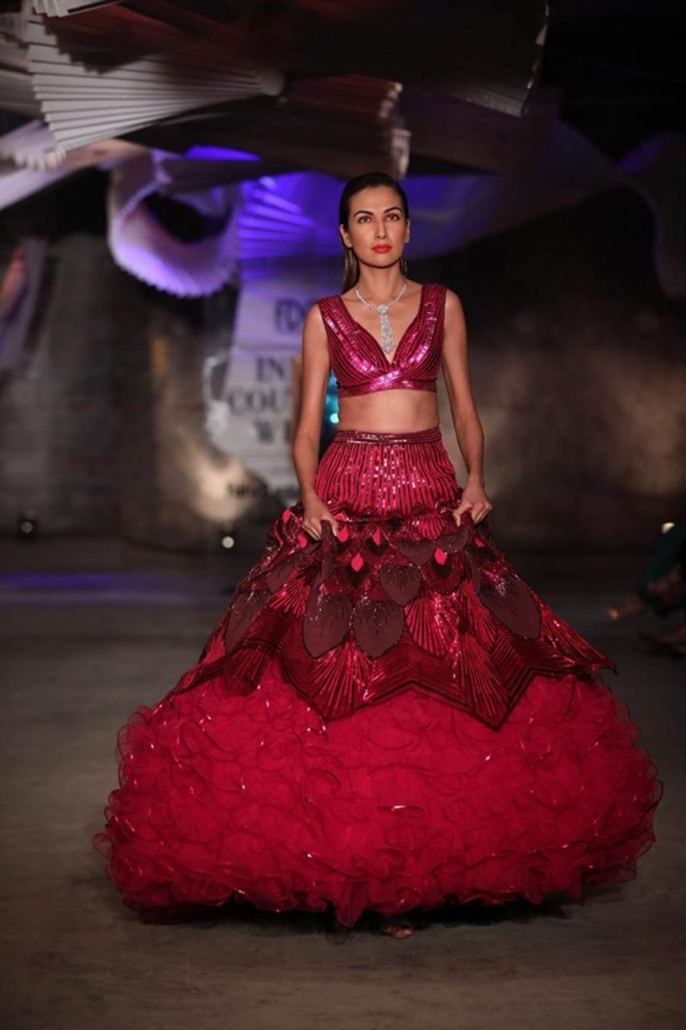 Amit Aggarwal for India Couture Week 2019.
