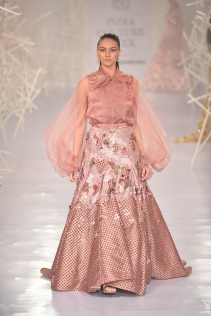 Pankal And Nidhi for India Couture Week 2019.