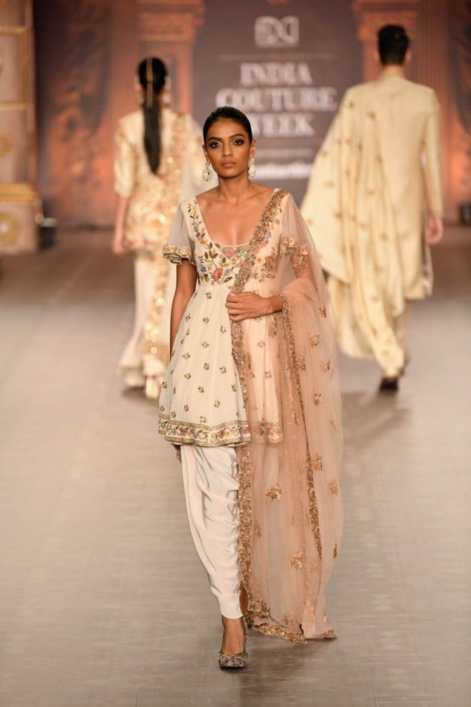 Shyamal And Bhumika for India Couture Week 2019.