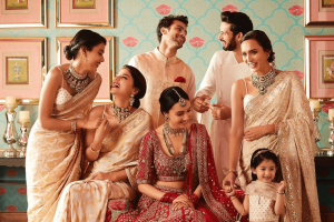 Anita Dongre Goes Digital Launching Bespoke Indian Wedding Invitations with Paperless Post