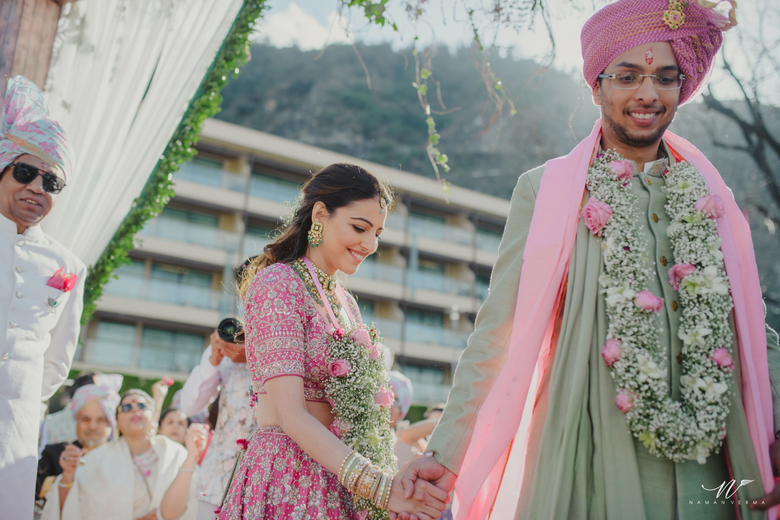 Anita Dongre's son, Yash Dongre's intimate Mussoorie wedding
