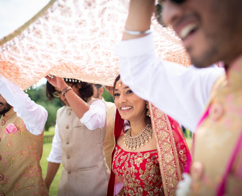 Whether it's rain, hail or sunshine, you will need to have a plan B in place for extreme weather conditions on your wedding day. Double check contracts with your suppliers.