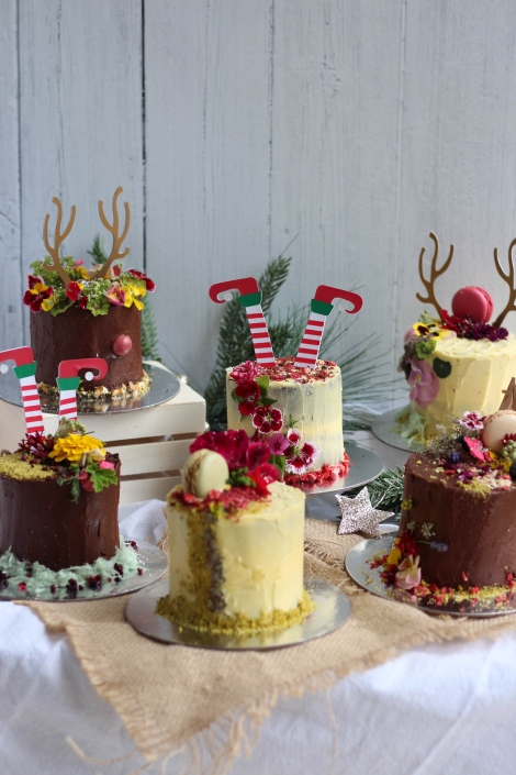 Christmas Cake Decorating Workshop with Oh That Be Good