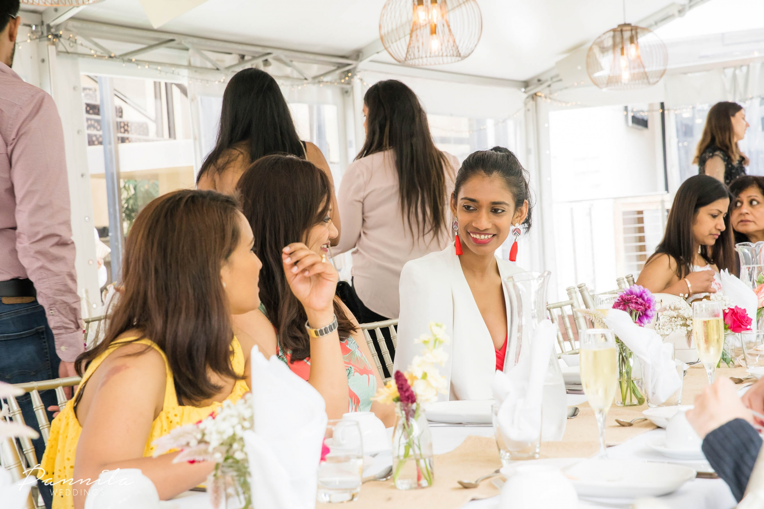 Guests at a Sydney Indian bridal fashion and high tea event hosted by The Maharani Diaries, The Modern Desi and Oh That Be Good.