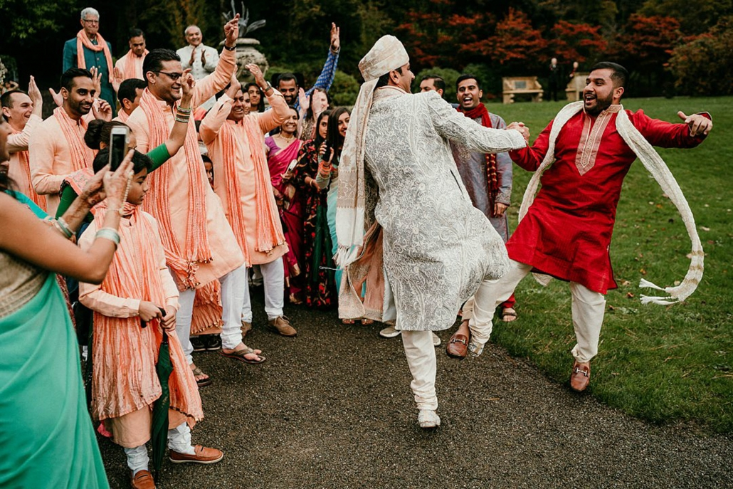 Lindsay and Miten's beautiful Indian fusion wedding in County Mayo, Ireland.